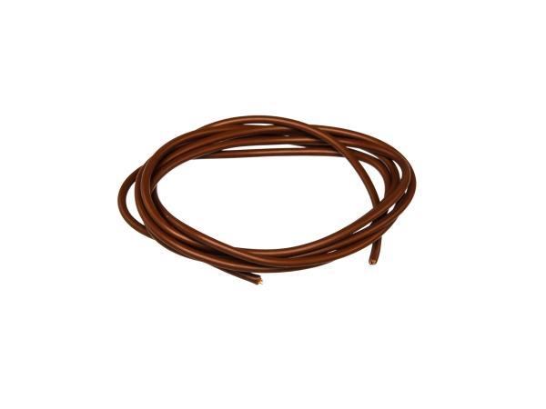 10001784 Kabel - Braun 0,50mm² Fahrzeugleitung - 1m - Bild 1