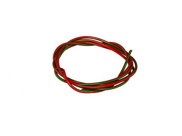 10001777 Kabel - Rot/Grün 0,50mm² Fahrzeugleitung - 1m - Bild 1