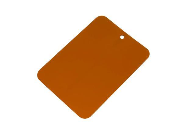 Farbmuster lackiert auf Blech, Leifalit, Ocker,  10062144 - Bild 1