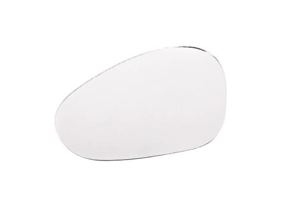 Spiegelglas, rechts für Spiegel Lenkerinnenbefestigung, kurzer Stab,  10056856 - Bild 1