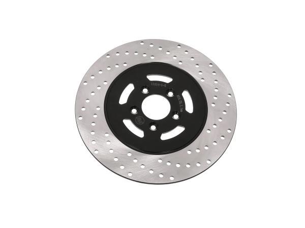 Bremsscheibe, Edelstahl ø220mm - Simson S53, S83, MS50, TS050, SC050, SR50X, SR80X, SRA50,  10066236 - Bild 1