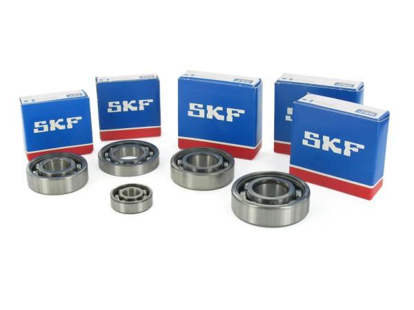 Set: Kugellager Motor M531-M754 - Simson S51, S70, S53, S83, KR51/2 Schwalbe, SR50, SR80,  10002005 - Bild 1