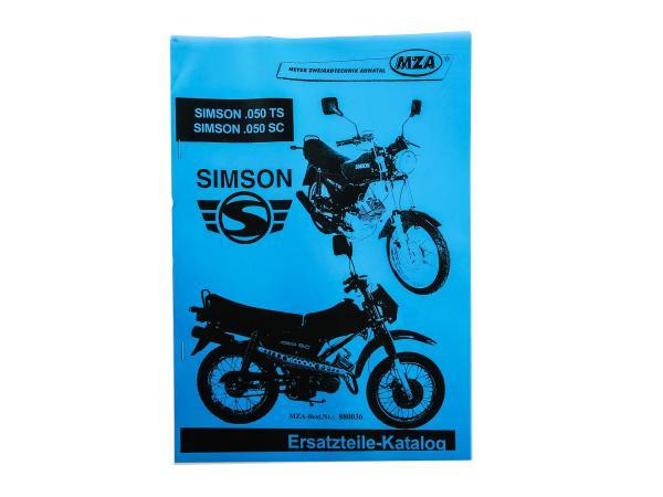 Buch - Ersatzteilkatalog Simson 0.50 TS /SC,  10002781 - Bild 1