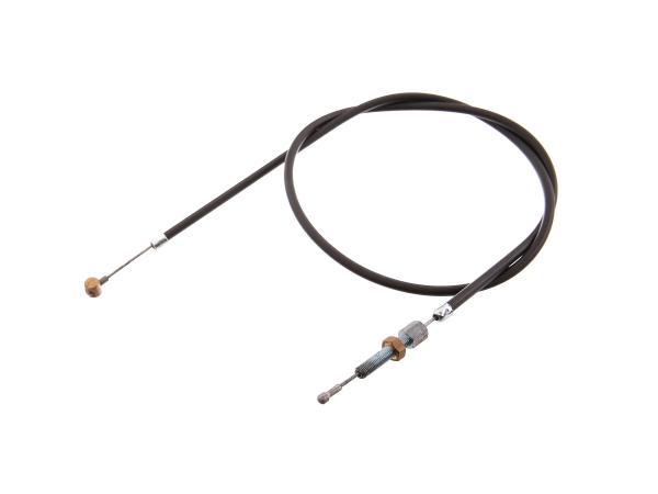 Kupplungszug schwarz mit Stellschraube - für EMW R35,  10055019 - Bild 1