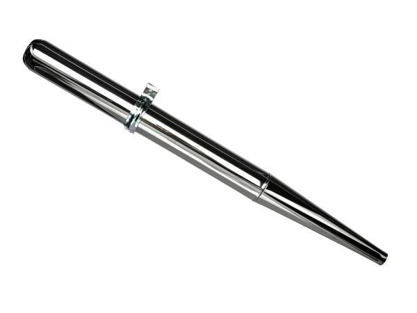 Auspuff - Tuning 32mm, Originaloptik - Simson S50, S51, S70, KR51/2 Schwalbe, SR50, u.a.,  10000206 - Bild 1