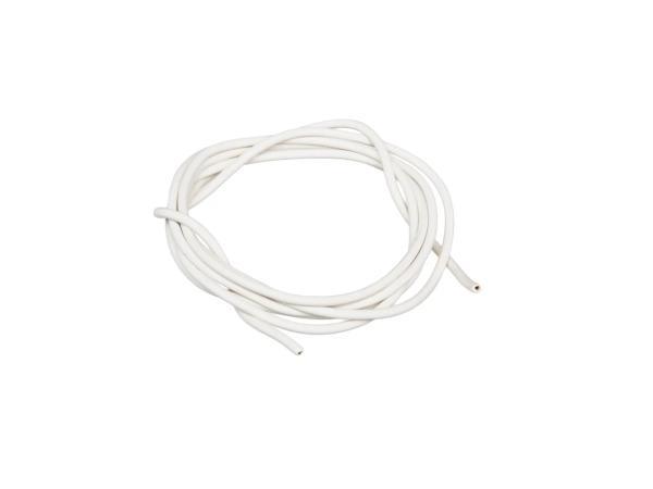 10001767 Kabel - Weiß 0,50mm² Fahrzeugleitung - 1m - Bild 1