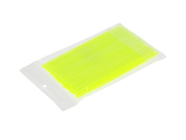 Set: 36x Speichen-Cover Neon-Gelb, Speichenschutz, Länge 180mm,  10070147 - Bild 1