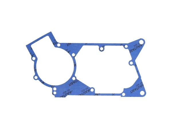 Motormitteldichtung aus Kautasit 0,5mm stark, Motortyp M500/700 - für Simson S51, SR50, SR80, S53, S70, S83, KR51/2 Schwalbe, DUO 4/2,  10069348 - Bild 1