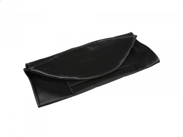 Sitzbezug strukturiert, schwarz ohne MZ-Schriftzug - MZ TS125, TS150,  10003670 - Bild 1