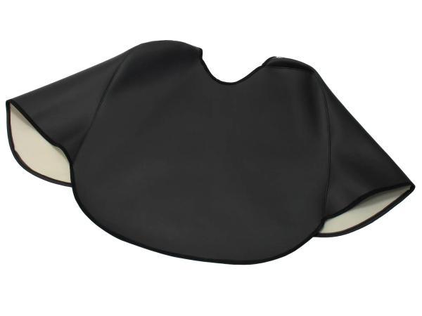 Knieschutzdecke schwarz, gefüttert, Handarbeit - für Simson KR51/1 Schwalbe, KR51/2 Schwalbe,  10041113 - Bild 1