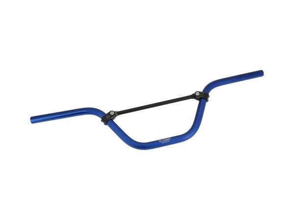 Crosslenker ZT-Tuning, mit ABE, Blau eloxiert - für Simson S51, S50, S53, S70, S83,  10069437 - Bild 1