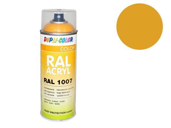 Dupli-Color Acryl-Spray RAL 1007 narzissengelb, glänzend - 400 ml,  10064739 - Bild 1