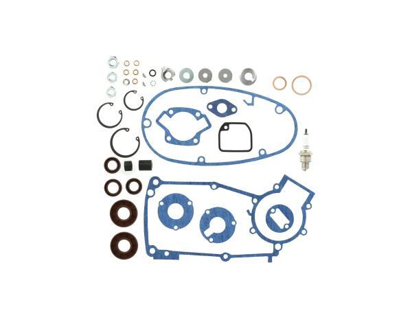 Set: Motorregenerierung mit Kautasit Dichtungen Motortyp M53/2 - für Simson S50,  10069800 - Bild 1