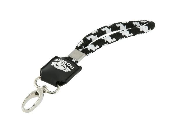 """Schlüsselanhänger """"Simson"""", aus geflochtenem Polyestergewebe,  10070649 - Bild 1"""