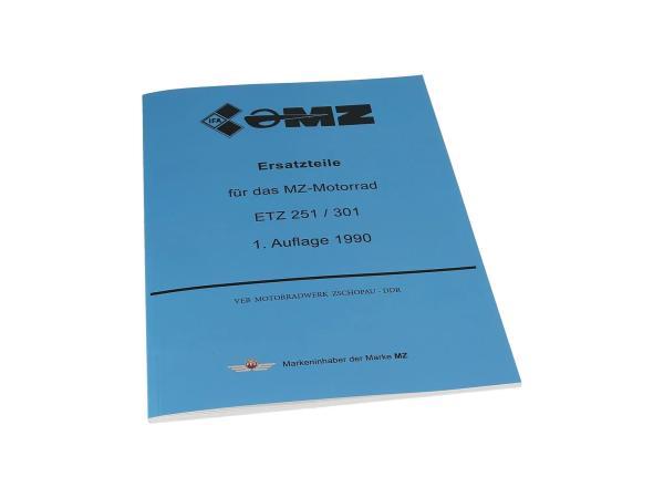 Ersatzteilkatalog - MZ ETZ 251, 301,  10003658 - Bild 1