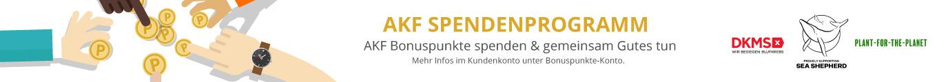 AKF Spendenprogramm - Spenden & gemeinsam Gutes tun