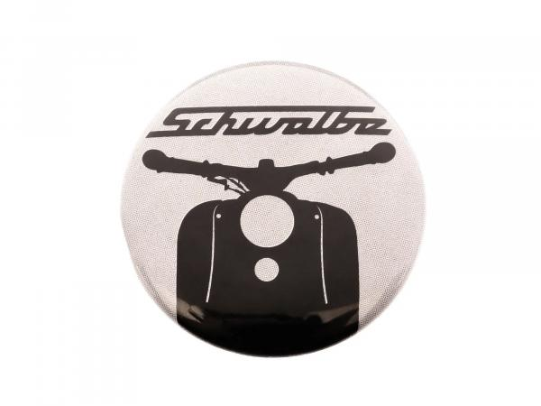 """Button, Anstecker """"Schwalbe"""" Ø25 mm,  10067761 - Bild 1"""