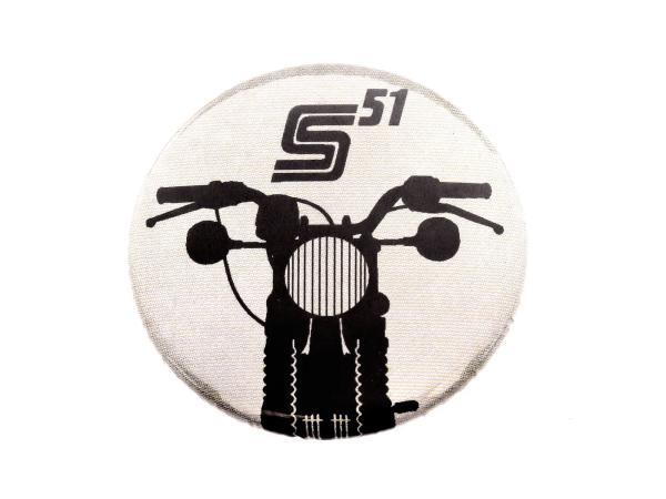 """Button, Anstecker """"S51"""" Ø25 mm,  10067760 - Bild 1"""