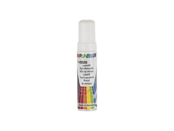 Dupli-Color Lackstift RAL 9010 reinweiß, glänzend - 12ml,  10065042 - Bild 1