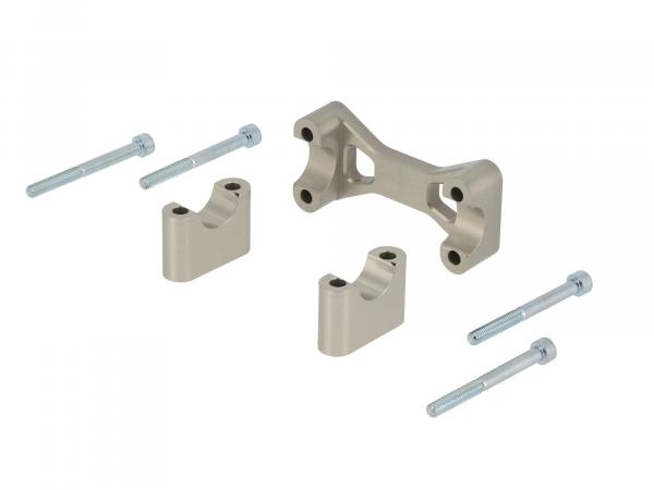 AKF Tuning-Lenkeraufnahme, Aluminium eloxiert - für Simson S50, S51, S70, Enduro,  10070560 - Bild 1