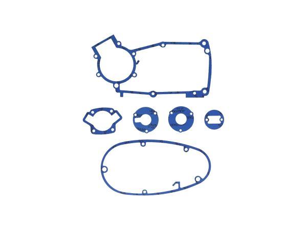 Dichtungssatz aus Kautasit Motortyp M53/2 - für Simson S50, Schwalbe KR51/1,  10069210 - Bild 1