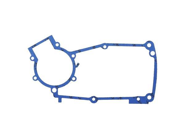 Motormitteldichtung aus Kautasit 0,5mm stark, Motortyp M53/2 - für Simson S50, Schwalbe KR51/1,  10069218 - Bild 1