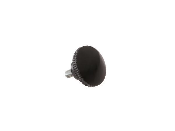 Rändelschraube schwarz ohne Druckscheibe (M6) ES125, ES150, ES175, ES175/1, ES250, ES250/1, ES300,  10057664 - Bild 1