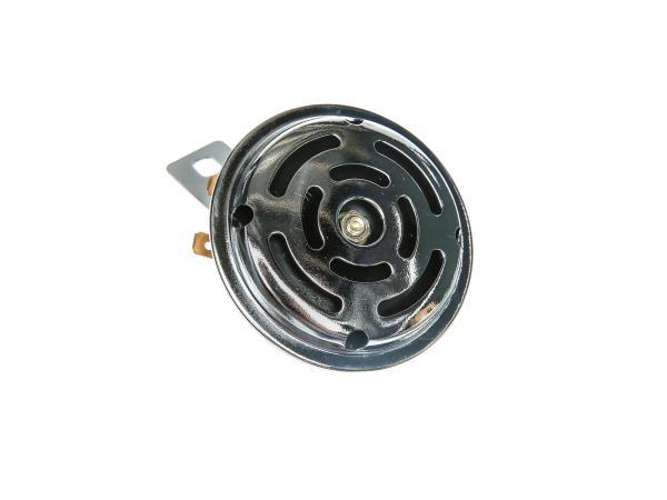 Hupe 12V mit Halter in Chrom - für Simson S50, S51, S70, S53, S83,  10001790 - Bild 1