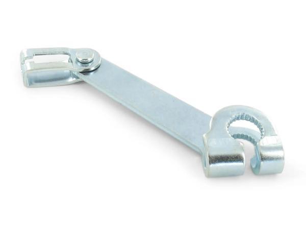 Bremshebel am Bremsschild, vorn - für Simson S50, S51, S53, S70, SR50, SR80,  10000497 - Bild 1