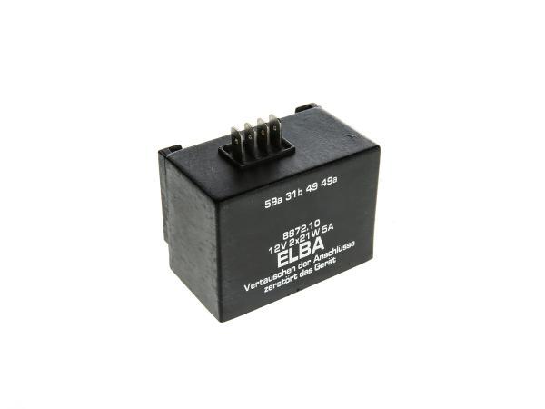 Elba 12V 2x 21W/5A, 8872.10/1 - Simson S51, S53, S83, SR50, SR80, SD 25/50,  10001759 - Bild 1
