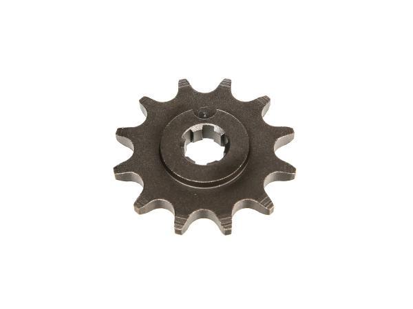 Ritzel, kleines Kettenrad, 12 Zahn - für Simson S50, KR51/1 Schwalbe, SR4-2 Star, SR4-3 Sperber, SR4-4 Habicht,  10000472 - Bild 1