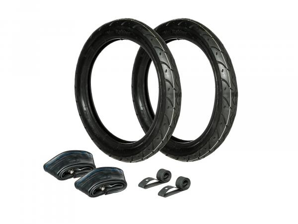 GP10000219 Set: 2x Reifen 2.75 x 16 Vee Rubber VRM 099R + 2x Schläuche + 2x Felgenband - Bild 1