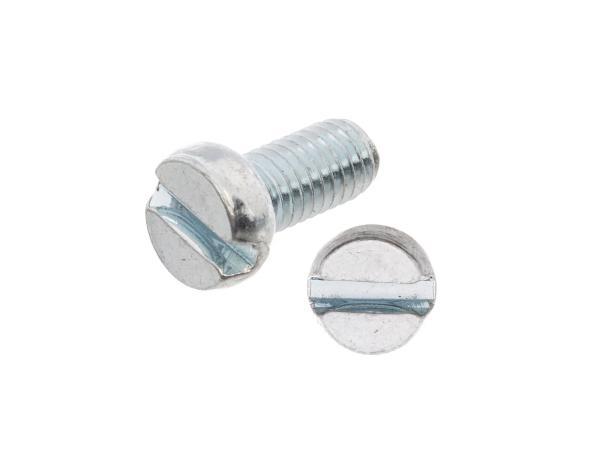 Zylinderschraube, Schlitz M5x10 - DIN84,  10060121 - Bild 1