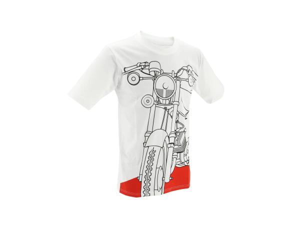 """T-Shirt """"S51 Flammrot"""" - Weiß,  10070779 - Bild 1"""