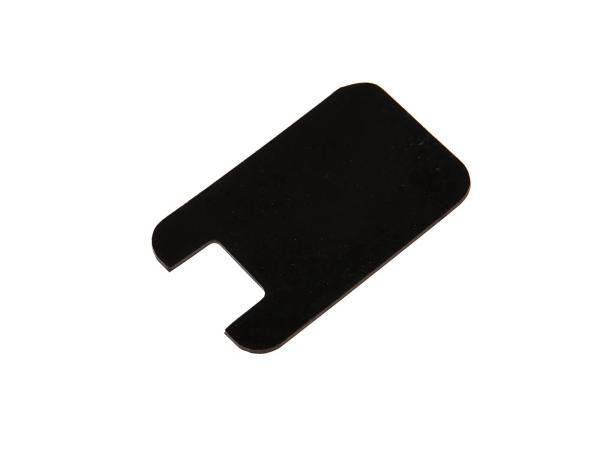 Gummiunterlage für Blinker- oder Abblendschalter,schwarz,  10067130 - Bild 1