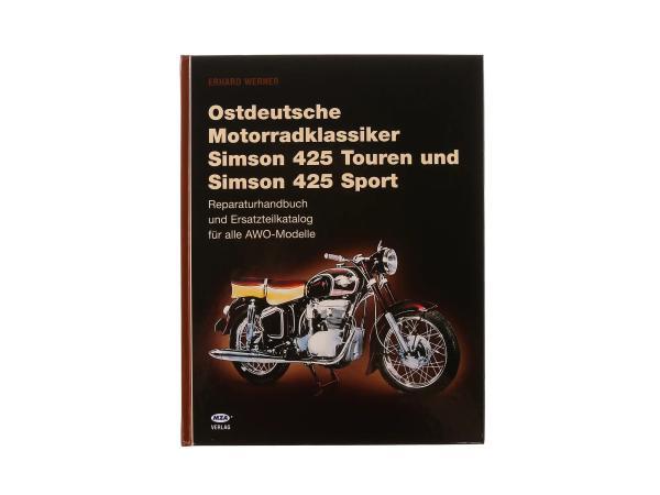 Buch - Ostdeutsche Motorradklassiker (AWO Sport / AWO Touren),  10002766 - Bild 1