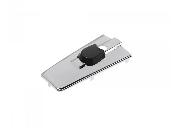 10060999 Abdeckkappe für Zündlichtschalter, stumpfe Form, chromeffekt - für MZ ES - Bild 1