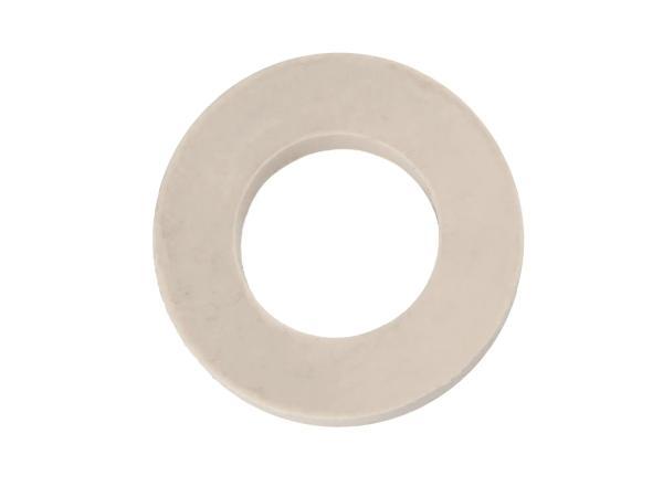 Gummi - Scheibe für Sterngriffmutter creme SR4-2, SR4-3, SR4-4, KR51/1, KR51/2,  10056589 - Bild 1