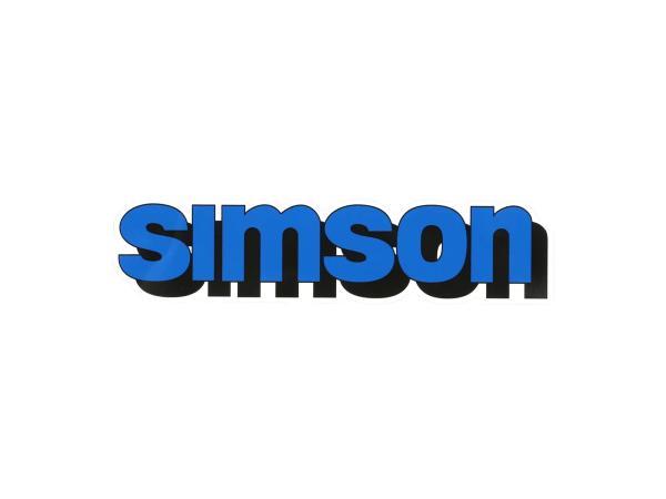 """Klebefolie Tank """"SIMSON"""" - Blau,  10071180 - Bild 1"""
