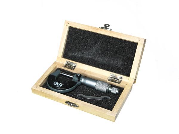 Mikrometerschraube Messbereich: 0-25mm,  10013401 - Bild 1