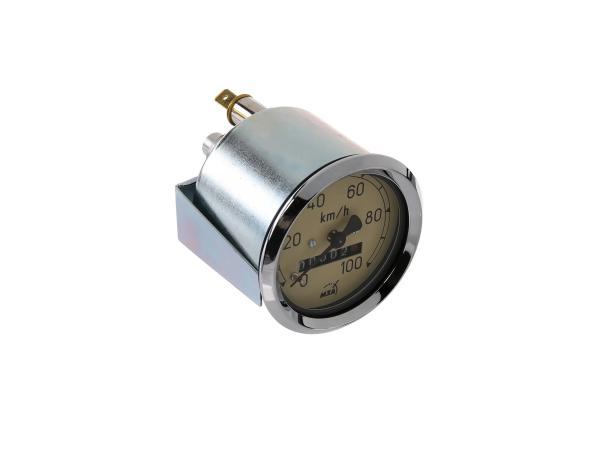 Tachometer bis 100 km/h - MZ RT125 - Simson SR56 Wiesel, SR59 Berlin,  10003814 - Bild 1