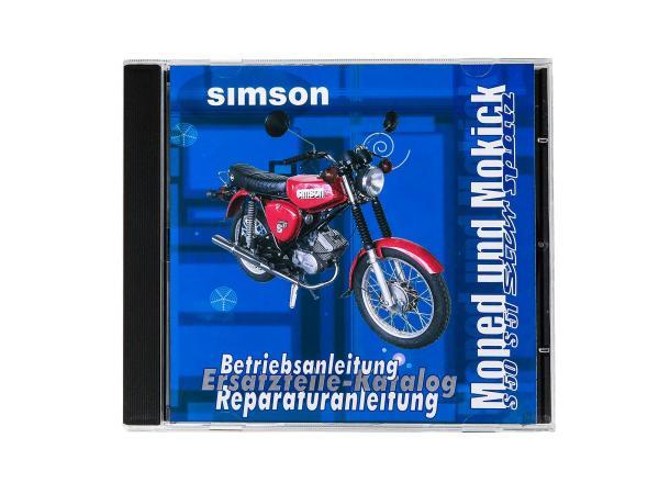 10002783 CD - SIMSON Moped und Mokick Originaldokumente Simson S51, S50, SR50, SR4 - Bild 1