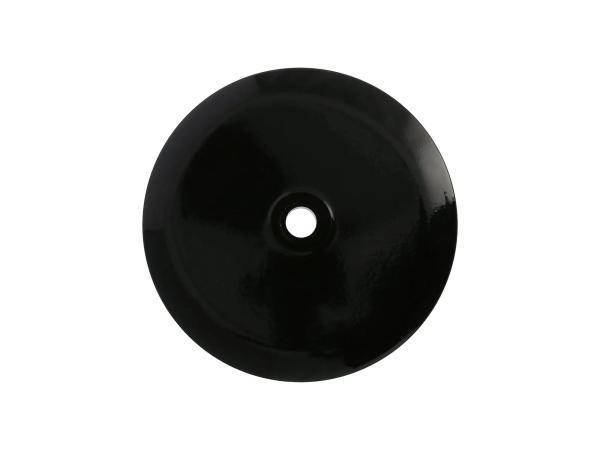 Deckel für Radnabe vorn, Aluminium, schwarz glänzend pulverbeschichtet,  10069537 - Bild 1