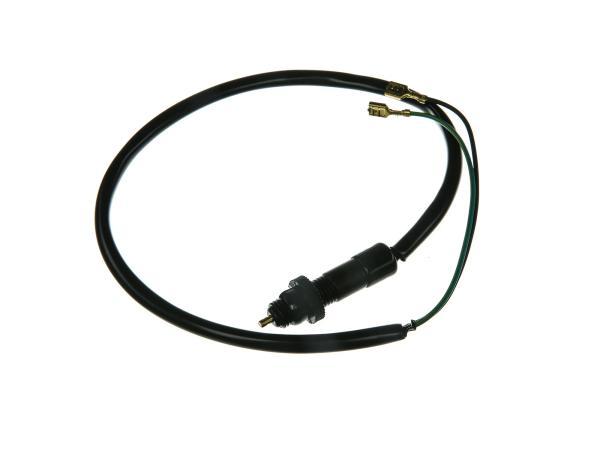 10001749 Bremslichttaster für Fußbremse mit Kabel - Simson S51, S53, S70, S83 - MZ ETZ - Bild 1