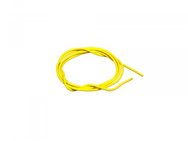 10001768 Kabel - Gelb 0,50mm² Fahrzeugleitung - 1m - Bild 1