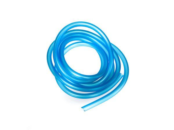 Benzinschlauch, Blau-transparent, 2 Meter, Ø 5x8,2mm,  10031091 - Bild 1