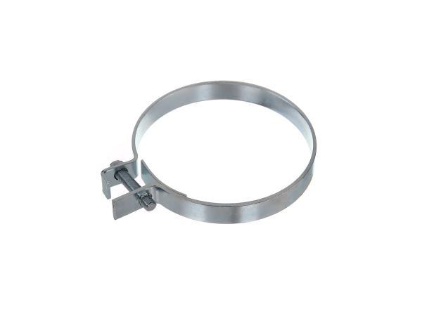Spannschelle für Zwischenbehälter, 70mm - für Simson KR51 Schwalbe, Duo 4,  10057688 - Bild 1