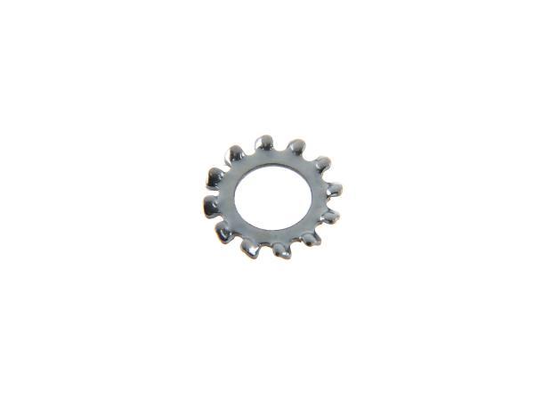 10000880 Zahnscheibe A 5,3 DIN 6797 für Bremslichtkontakt Simson S51, S50, SR50, Schwalbe KR51, SR4 - Bild 1