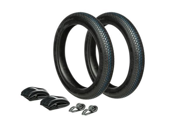 GP10000439 Set: 2x Reifen 2.75 x 16 Vee Rubber VRM262 + 2x Schläuche + 2x Felgenband - Bild 1