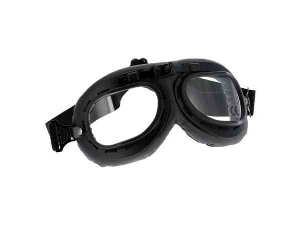 Motorradbrille Pilotenbrille in Schwarz,  10069520 - Bild 1